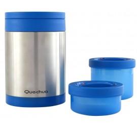 Термос из пищевой нержевейки 2 герметичных контейнера для пищи