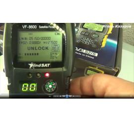Прибор для настройки спутниковых антенн VF-8600D