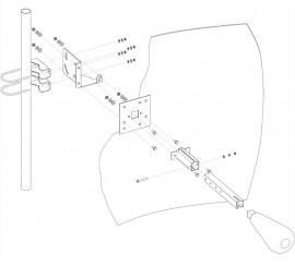 Параболическая MIMO антенна 27 дБ